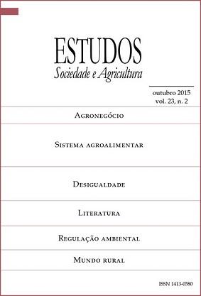 Visualizar Estudos Sociedade e Agricultura, v. 23, n. 2